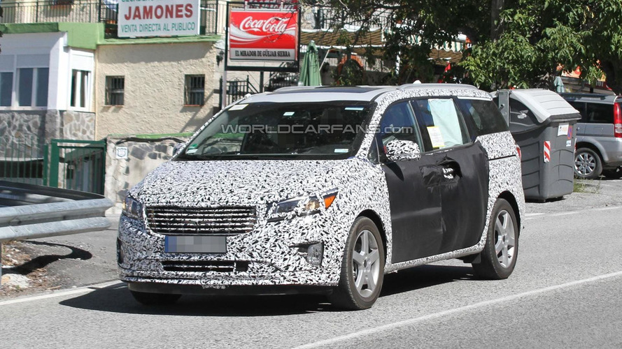 2015 Kia Sedona to debut in New York, showcase new styling direction - report