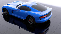 SRT Viper color contest winner is 'Competition Blue'