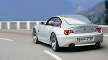 BMW Z4 Coupe artist interpretation