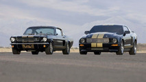 1966 and 2006 Ford Mustang Shelby GT-H