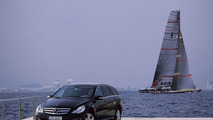 R-Class Meets America's Cup Yacht Alinghi