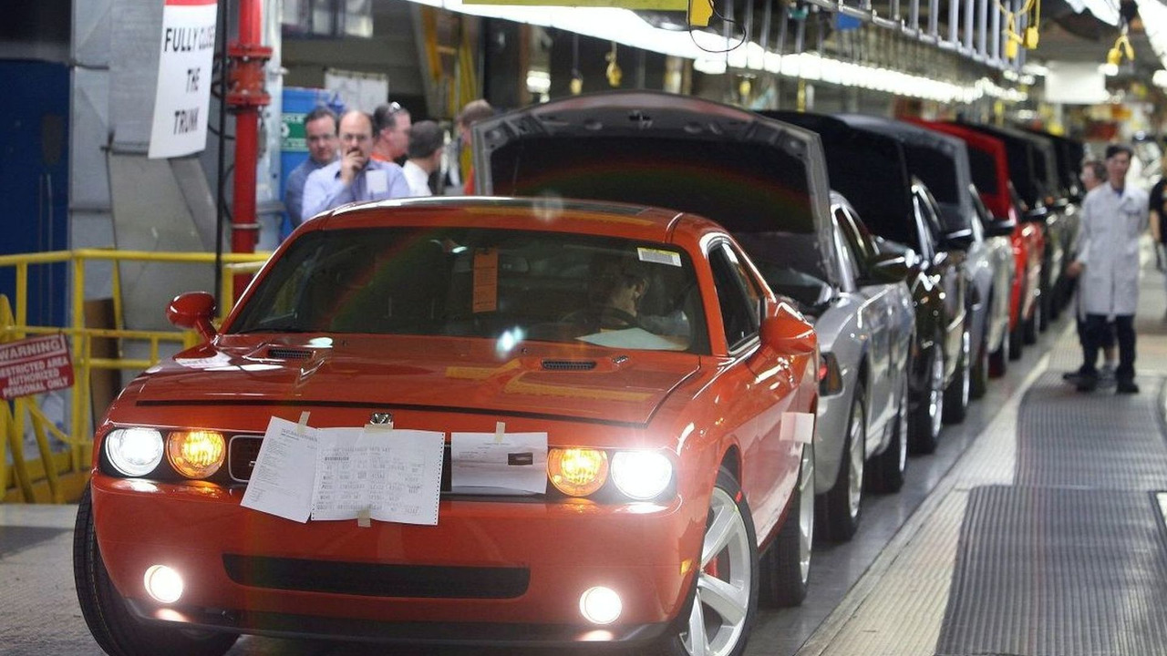 2008 Dodge Challenger SRT8 Production Start