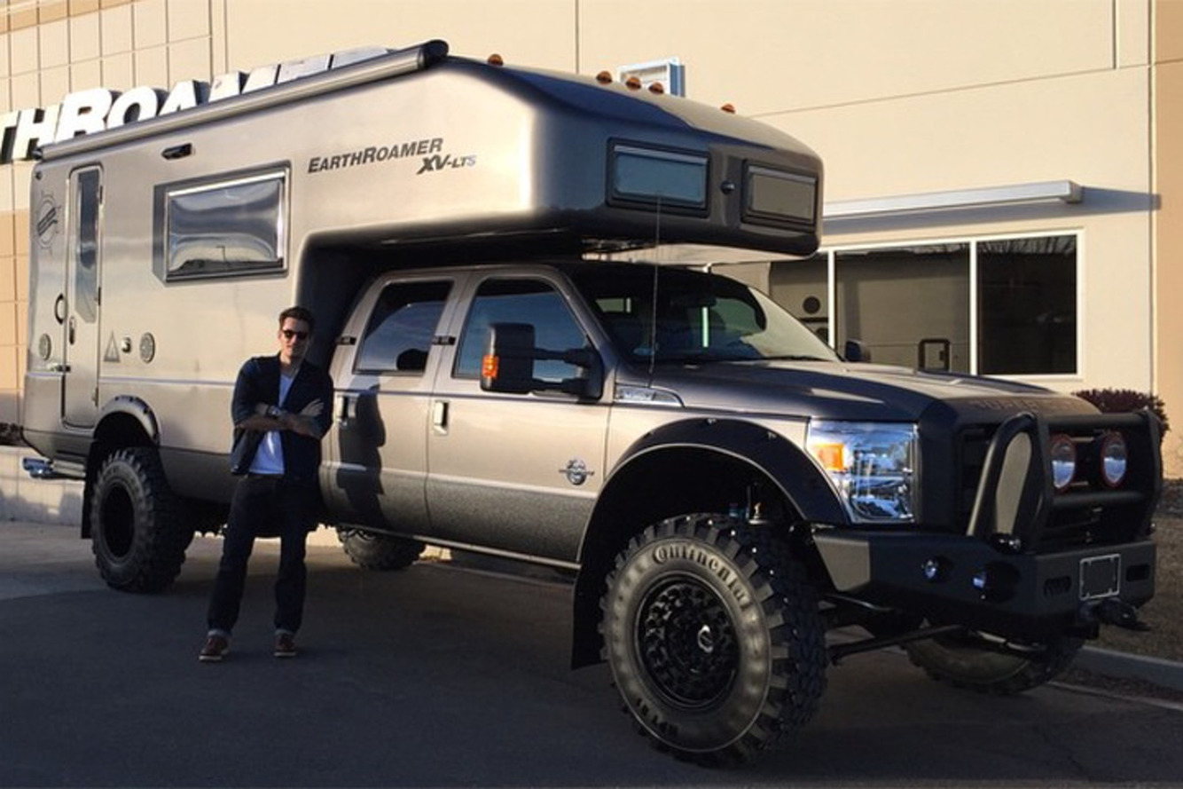 John Mayer Just Bought a Massive EarthRoamer Truck