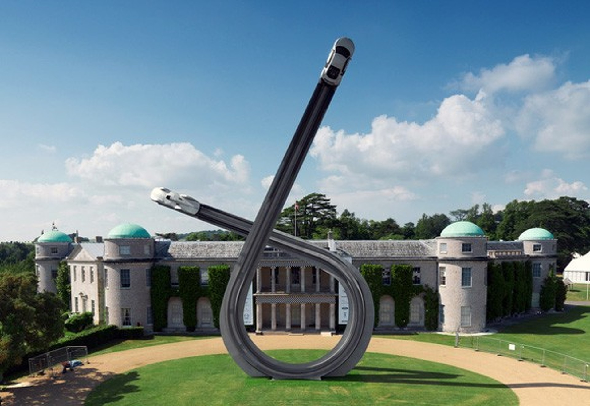 The Goodwood FoS -The Burning Man of Burning Rubber
