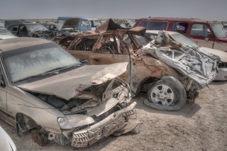 Cars Being Abandoned Left and Right in Qatar