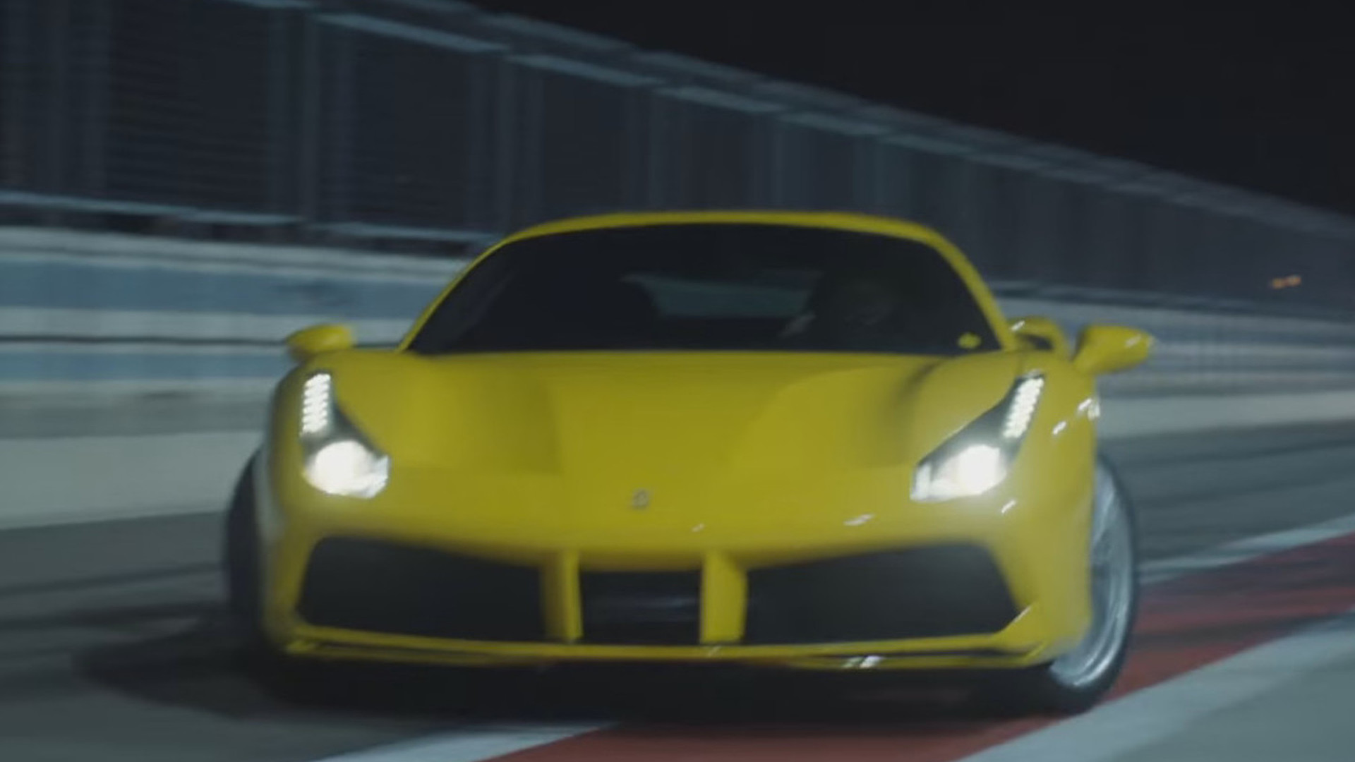 Ferrari 488 GTB hits the streets of Barcelona with Rhys Millen [video]
