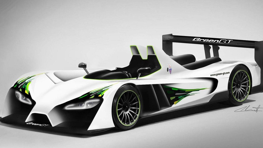 GreenGT LMPH2 revealed - set to race at 24 Hours of Le Mans 2012
