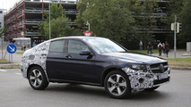 Mercedes GLC Coupe body revealed in official image