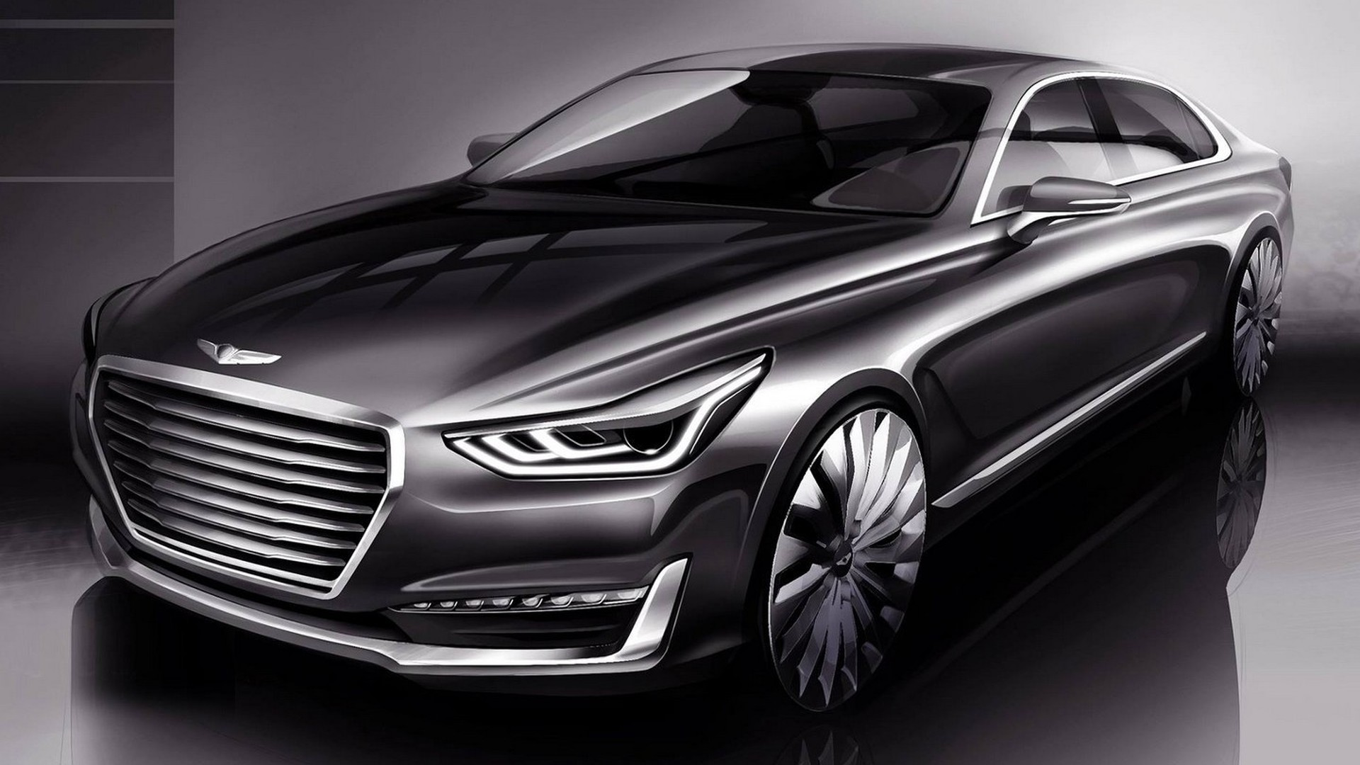 Genesis G90 to be revealed on December 9 with minor price hike