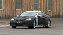 Hyundai RWD Sports Coupe spy photos