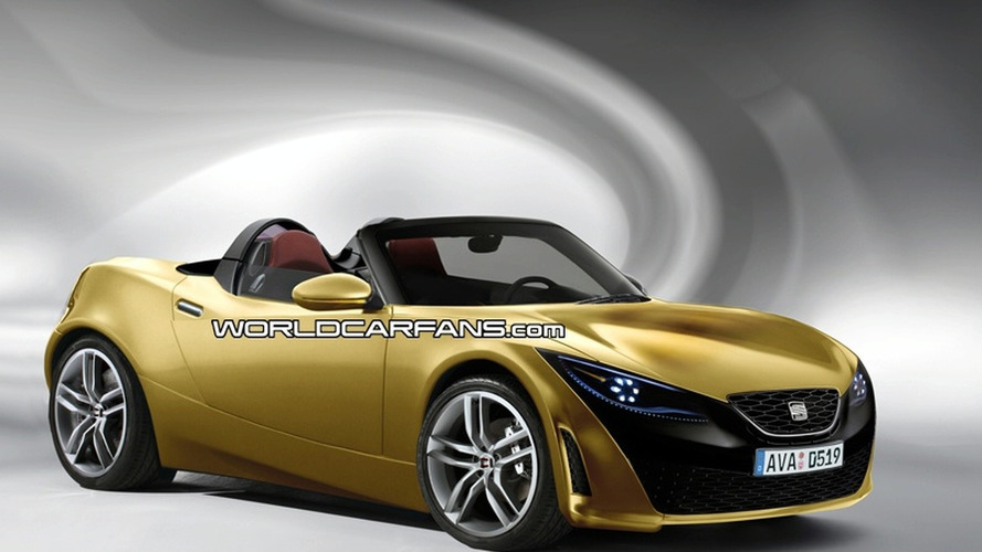 Rendered Speculation: Seat Roadster Inspired by Bocanegra Concept