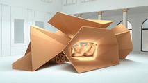 BMW 5 Series GT sculpture, The Dwelling Lab, Salone Internazionale del Mobile, 20.04.2010