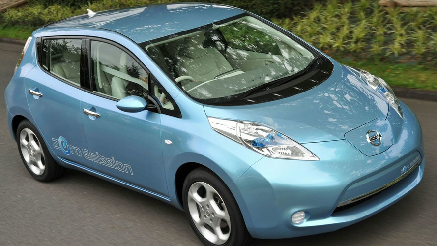 2010 Nissan Leaf Electric Vehicle Officially Revealed
