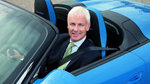 Porsche to consider F1 foray says new CEO Mueller