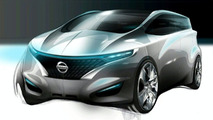Next Nissan FORUM Concept Sketch Released
