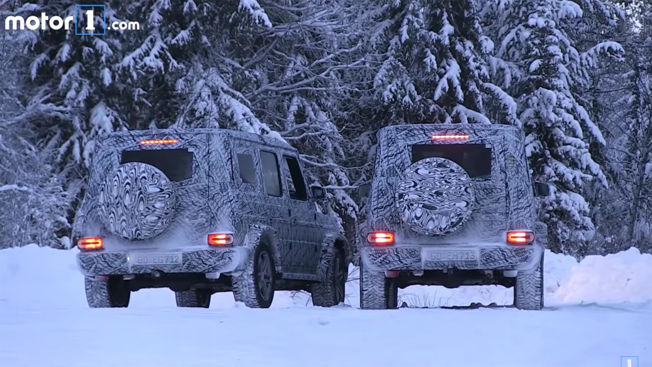 2017 - [Mercedes-Benz] Classe G II - Page 3 Mercedes-g-class-spy-video