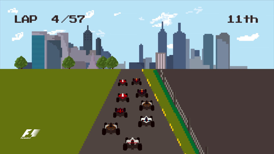 2016 F1 season review as 8-bit video game will make you nostalgic