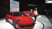 2015 Porsche 911 GTS at Los Angeles Auto Show