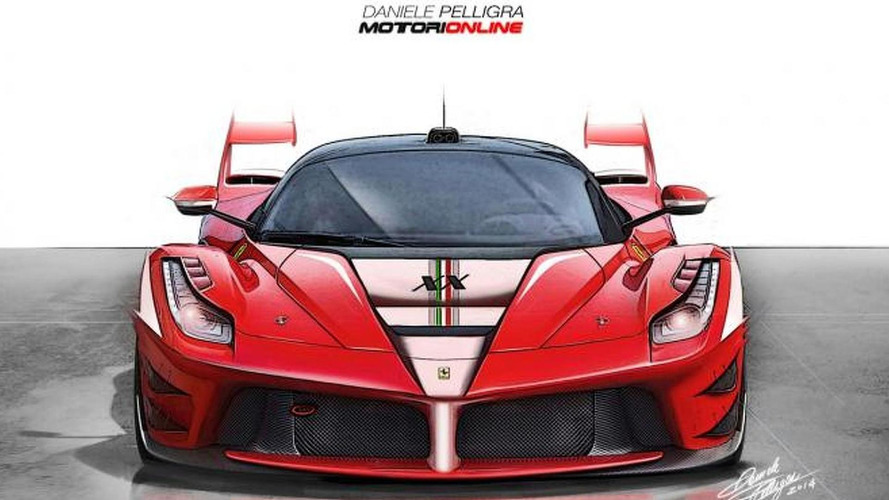 Ferrari LaFerrari XX renderings show a future flagship supercar