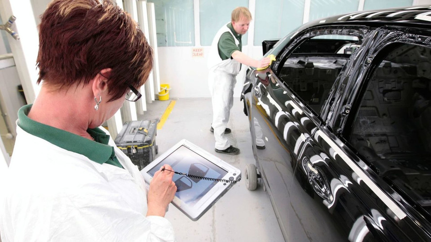 Bentley Details Mulsanne Painting Process Insight [video]