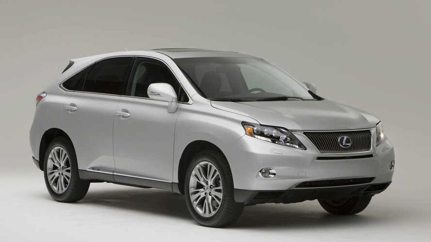 2010 Lexus RX 450h and RX 350 Revealed at Los Angeles Auto Show