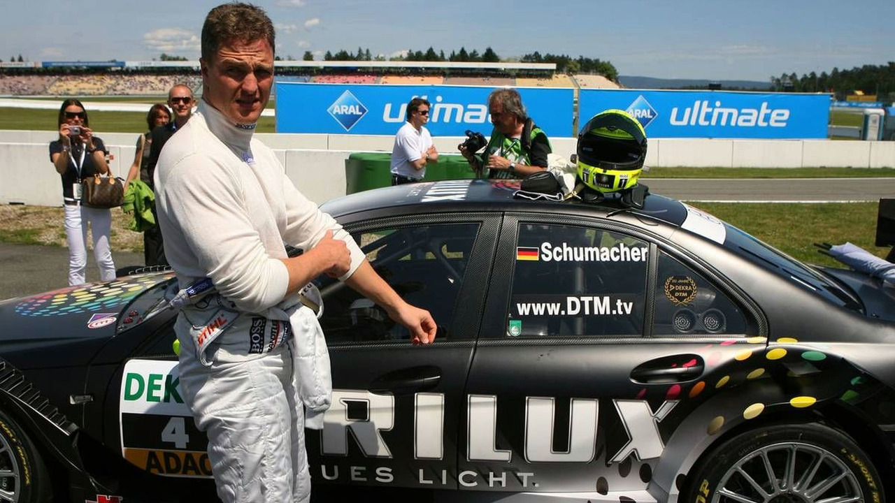 Ralf Schumacher (GER), Team HWA AMG Mercedes, DTM 2009 at Hockenheimring, Germany, Hockenheim, Germany, 17.05.2009
