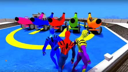 Spider-Man uses banana cars to teach ABCs – we love you, Internet