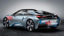 BMW i8 Concept Spyder en route to LA Auto Show - report