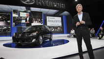 2014 Hyundai Equus facelift at 2013 New York Auto Show