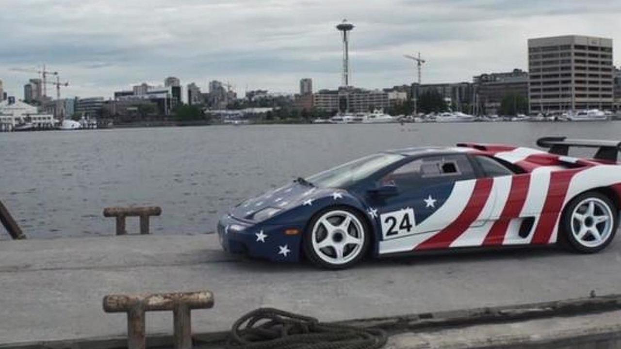 Lamborghini Diablo SV-R - stars and stripes edition