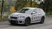 2015 BMW X1 Family Activity Sports Tourer spied testing front-wheel-drive system