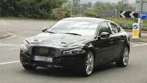 2016 Jaguar XF spied for the first time