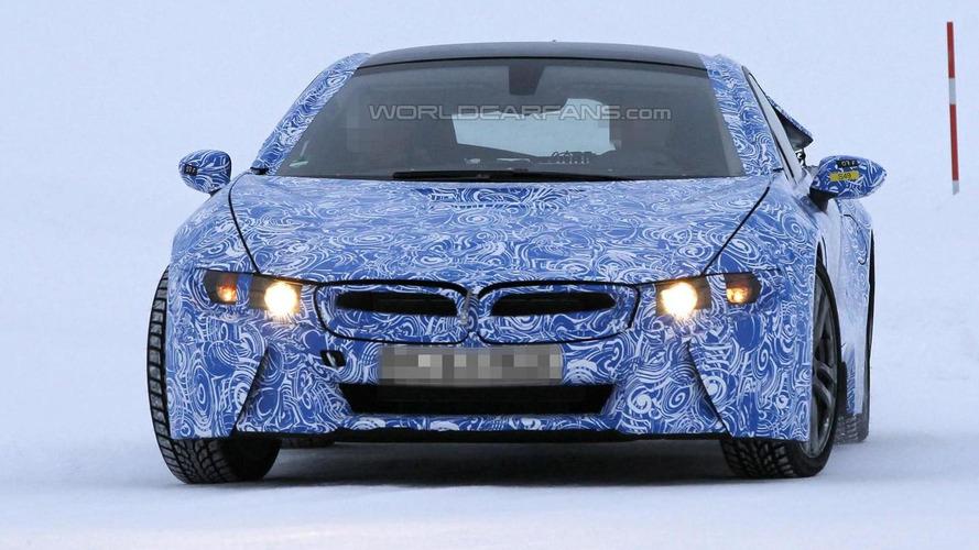 BMW i8 production version details spilled