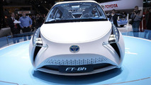 Toyota FT-Bh hybrid concept love in Geneva 06.03.2012
