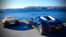 Rimac Concept One races Bugatti Veyron