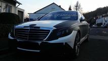2013 Mercedes-Benz S-Class spy photo