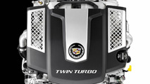 Cadillac 3.6-liter twin-turbo V6 engine gets detailed