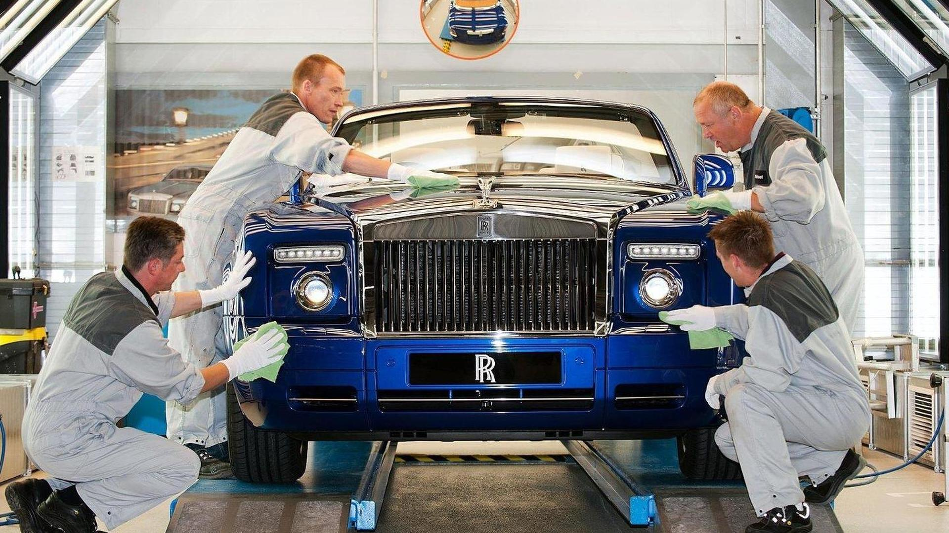 One-off Rolls-Royce Phantom Drophead Coupé presented at Masterpiece London 2011