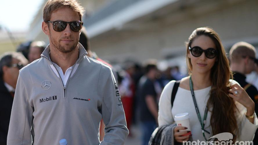 Jenson Button splits with wife Jessica
