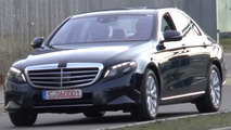 2016 Mercedes E-Class spied almost completely undisguised [video]