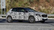 2014 Mercedes GLA spied yet again