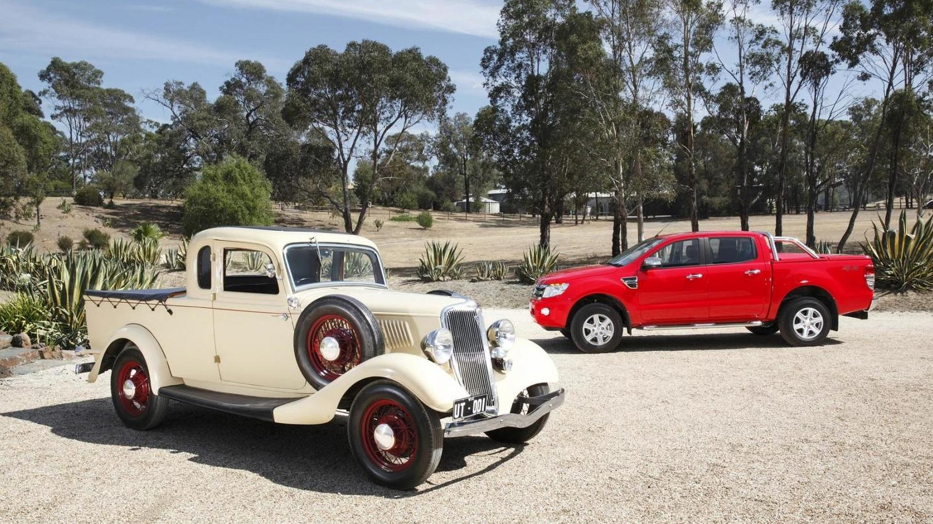 Ford celebrates the 80th anniversary of the Ute as they prepare to kill it