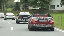 2014 BMW 4-Series Convertible and M3 spy photo