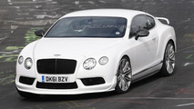 Mysterious Bentley Continental GT V8 prototype spied, could be a high-performance variant