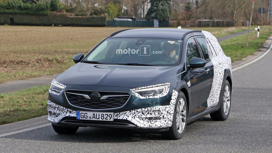 2018 Opel Insignia Country Tourer spied for the first time