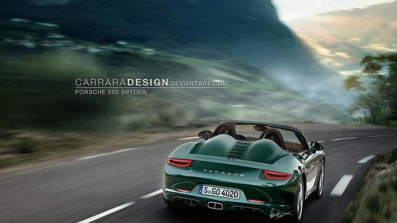 2014 Porsche 550 Spyder artist rendering 30.9.2011