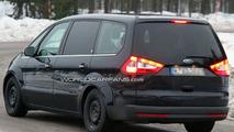 Ford Galaxy Development Mule Spied Winter Testing 14.12.2009