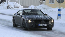 Mercedes SL Prototype on Arctic Circle