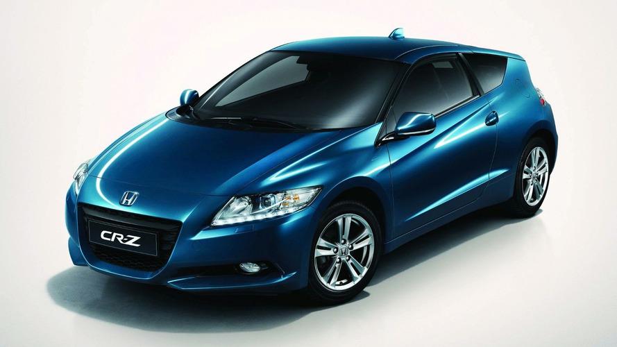 Honda CR-Z European Debut at Geneva