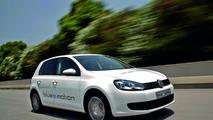 VW Golf Blue e-motion 09.11.2010